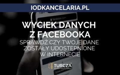 Wyciek danych z Facebooka – sprawdź czy Twoje dane zostały udostępnione