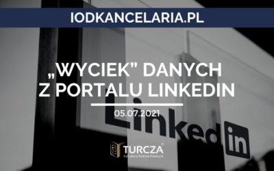 """""""Wyciek"""" danych z portalu LinkedIn"""